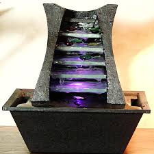 tabletop water fountains with lights lofty 19 fiberglass led tabletop water fountains with lights lofty design 8 battery operated fountain great home