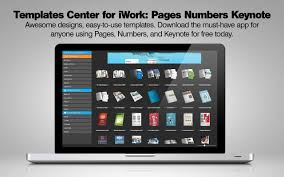 business templates for pages and numbers app shopper templates center for iwork pages numbers keynote
