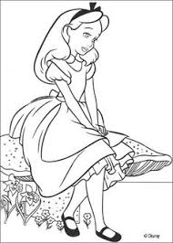 disney movies coloring pages disney coloring pages alice in wonderland coloring page