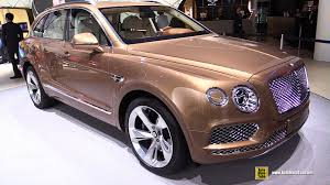 2017 bentley bentayga interior 2016 bentley bentayga exterior and interior walkaround 2015