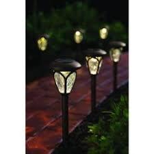 Solar Malibu Lights by Malibu Solar Kristi Collection Pathway Lights 4 Pack 8522 3103