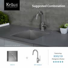 Installing A Kitchen Sink Faucet by Kitchen Faucet Kraususa Com