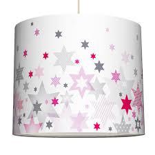 kinderzimmer grau rosa wand mädchen lenschirm sterne pink rosa grau ø 40cm bei