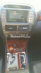 lexus ls430 navigation amin trading used cars 2004 lexus ls430 5 for sale from s korea