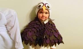 purplicious owl cape and hat halloween costume inhabitots green