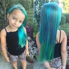 hair cute for 6 year old girls mom criticized for giving 6 year old unicorn hair babycenter blog