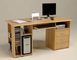 bureau ordinateur bois meuble bureau ordinateur pas cher chere bizoko pour verre idees fixe