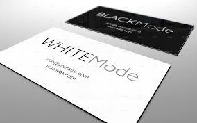 Business Cards Mockups Black U0026 White Business Card Mockup Volume 2 By Edproje