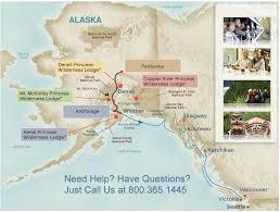 denali national park map alaska cruises denali national park sightseeing options alaska