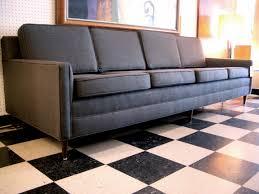 custom tuxedo sofa mid century modern furniture houston