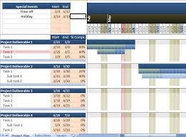 Excel Chart Templates Free Excel Gantt Chart Excel Template Excel Gantt Chart