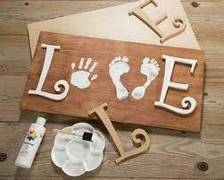 baby footprint ideas the best and footprint ideas kitchen with my 3 sons