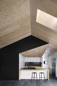 cuisine mur noir avec mur noir