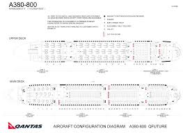 A330 300 Seat Map Qantas Revamps Airbus A380 New Seating Chart Shows Less Business