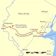 Easton Map Easton And Amboy Railroad Wikipedia