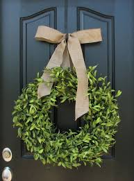 best 25 artificial boxwood wreath ideas on green
