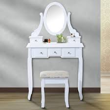 antique dressing table with mirror homcom vintage dressing table set with mirror reviews wayfair co uk