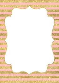 Gold Invitation Card Invitation Gold And Pink Buscar Con Google Baby Shower S