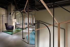 Home Art Gallery Design Lines Installation At Diesel Art Gallery By Chikara Ohno Tokyo