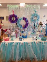 Table Party Decorations Frozen Party Decoration Frozen Party Pinterest Frozen Party