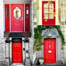 red front door total basset case red red door