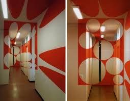 Interior Design Wall Art  Incredible Optical Illusions - Interior design wall painting