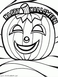 halloween pumpkins coloring pages picture gallery of the free
