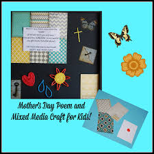mother u0027s day poem and easy mixed media craft for kids wikki stix