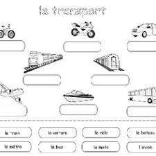 worksheets french french worksheets for children