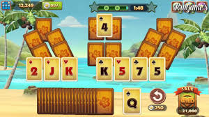 solitaire tripeaks android gameplay youtube
