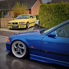 bmw e36 on artec turbo and bbs rs2 test fitting bmw e36