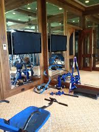 exercise room decor home design ideas