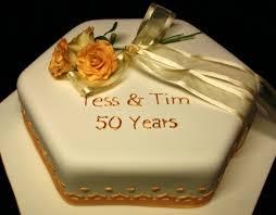 melanie ferris cakes news hexagonal golden wedding cake