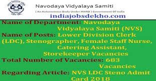 catering assistant jobs nvshq org nvs ldc steno admit card 2018 nvs staff nurse call