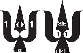 om with trishul tattoo design photos pictures and sketches