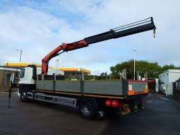 daf 65 250 palfinger 16001 crane cromwell trucks