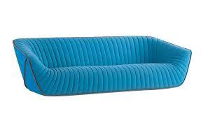 Roche Bobois Contemporary Sofa Chic Blue Sofa From Roche Bobois Nautil By Cedric Ragot
