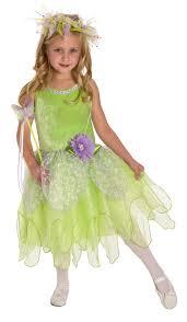 Deluxe Tinkerbell Fairy Dress Up Costume Girls Tinkerbelle Dress
