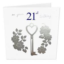 21 Birthday Card Design Buy On Your 21st Birthday Luxury Key Card By Uk Designer Jane