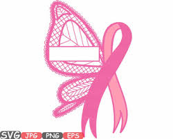 cancer butterfly frame clipart awareness autism ribbon faith 605s