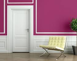 Best Pink Interiors Images On Pinterest Home Architecture - Bright paint colors for bedrooms