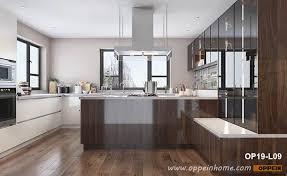 brown kitchen cabinets brown modern kitchen cabinets oppein