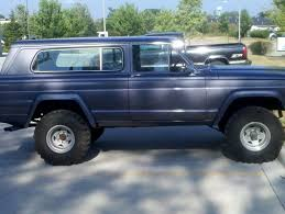 jeep cherokee chief blue cherokee chief project international full size jeep association