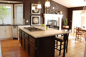 impressive design kitchen wall colors with light brown cabinets
