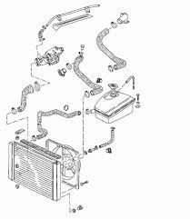 1983 porsche 944 radiator 944 coolant system radiator hose diagram
