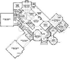5 Bedroom Country House Plans English Country Style House Plans Plan 6 1887