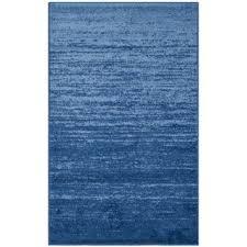 Safavieh Light Blue Rug Safavieh Handmade Himalaya Light Blue Dark Blue Wool Gabbeh Rug