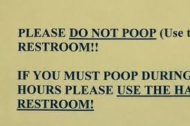 Funny Bathroom Pics 25 Bathroom Signs That U0027ll Make You Yourself