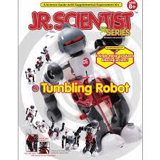 amazon com edu toys jr scientist tumbling robot toys u0026 games
