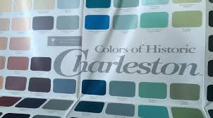 paint colors that reflect historic charleston and the lowcountry